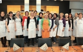 Teilnehmer des Kochworkshops