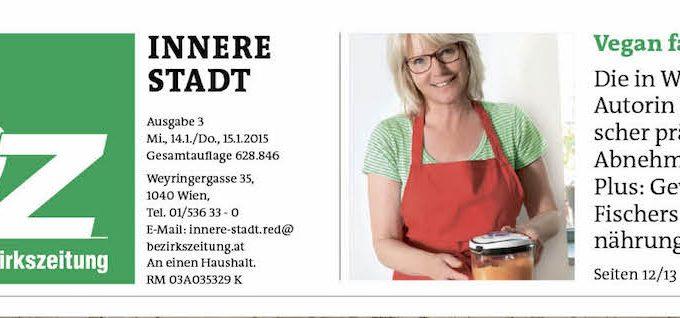 Titelbild der Wiener Bezirkszeitung Innere Stadt vom 15.1. 2015