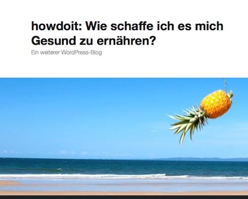 Titelbild howdoit Blog