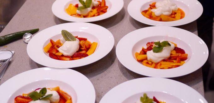 Kochkurs Gusto Dessert mit Mango und Orangen
