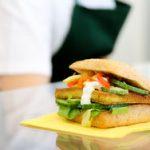Burger mit Tofu