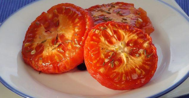 Tomaten geschmort