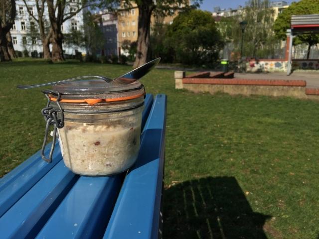 porridge im glas