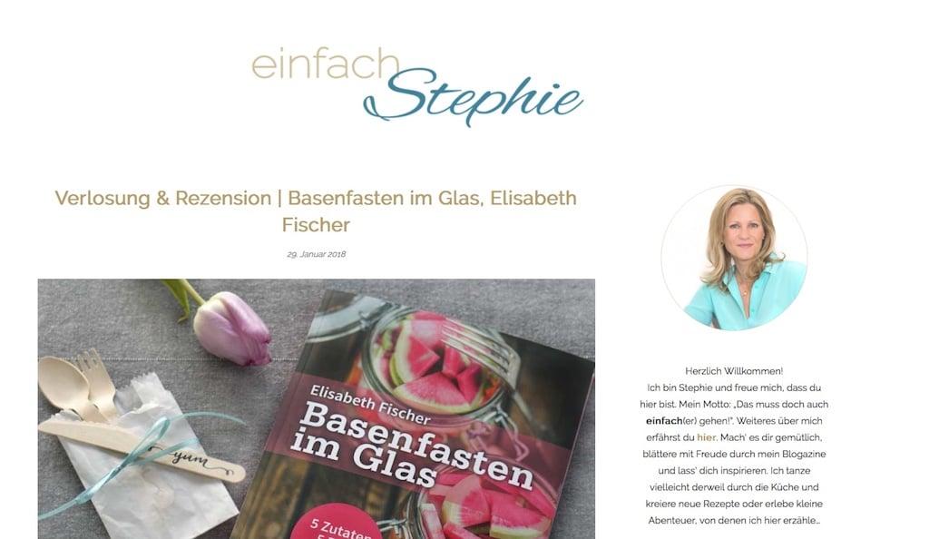 Einfach Stephie Blog