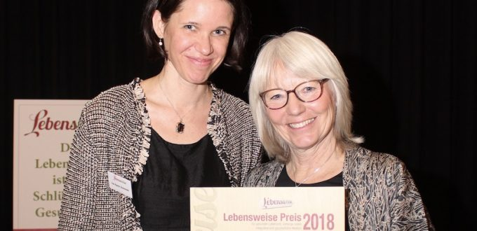 Ina Scgriebl und Elisabeth Fischer