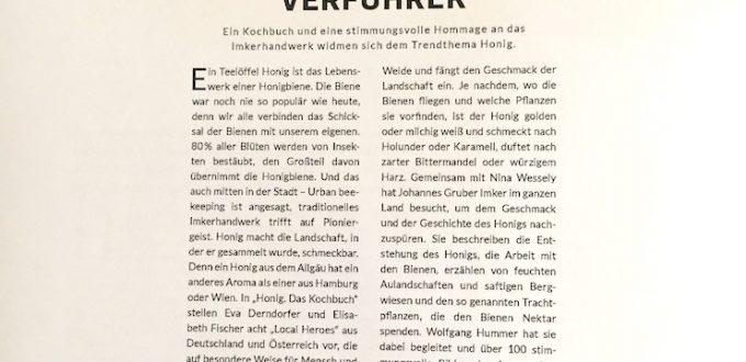 """Screenshot des Buchmedia Magazines """"Der süße Verführer"""""""