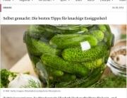 Kurier Artikel über Essiggurkerl