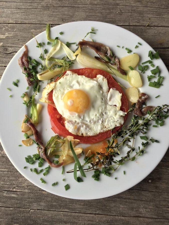 Frühstück üppig