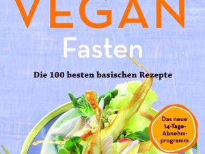 Buchcover von Vegan Fasten mit bunter Salatschüssel