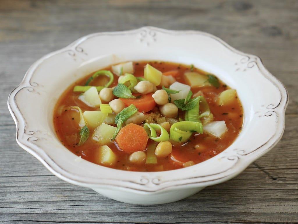 Andalusischer Kichererbsen-Gemüse-Topf